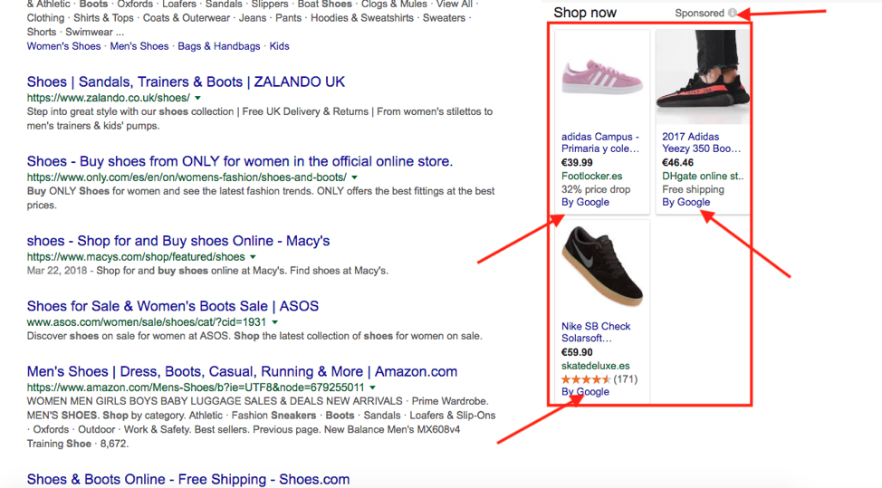 Ibiza Digital Agency - Google Shopping Ads