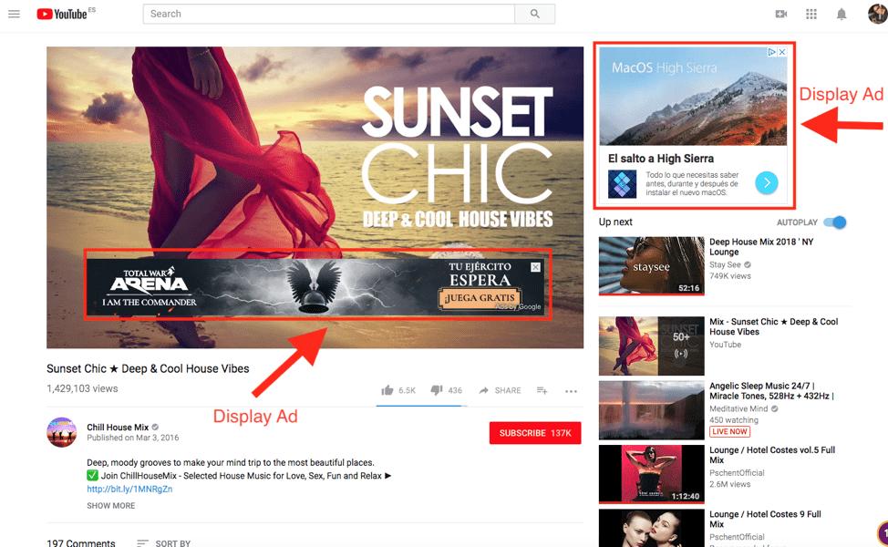 Ibiza Digital Agency - Youtube ad